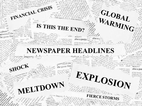 Newspaper Headlines Template.