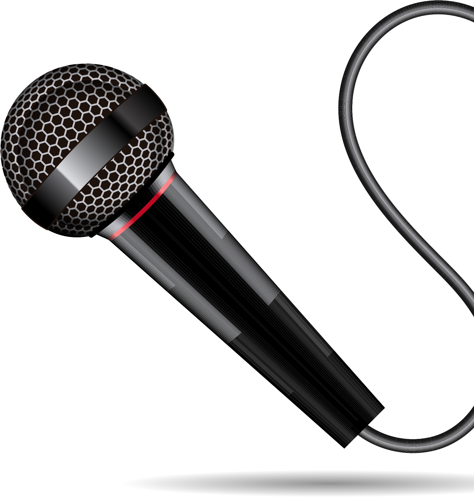 Xlr Microphone Cable Png Download Headphone Ear Pad.