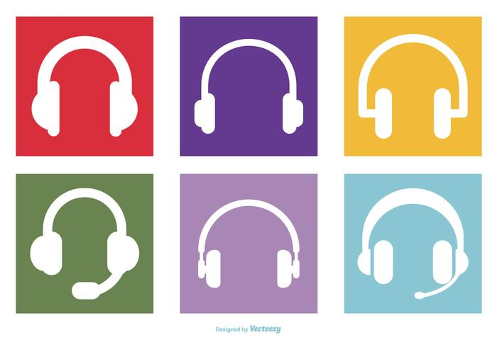 Headphone Icon Collection.