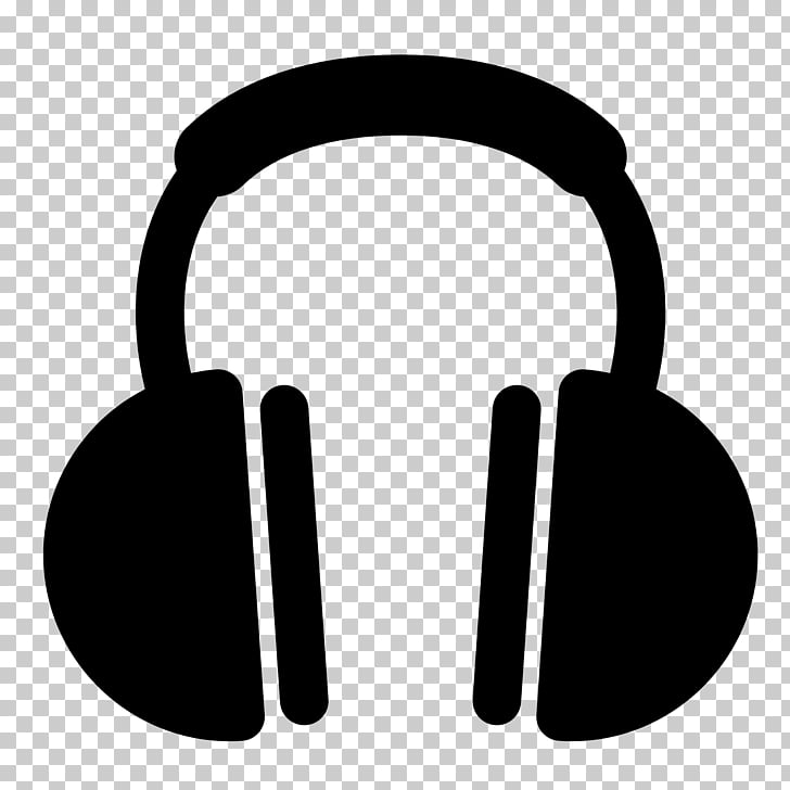 Headphones Icon, Headphones With Music PNG clipart.
