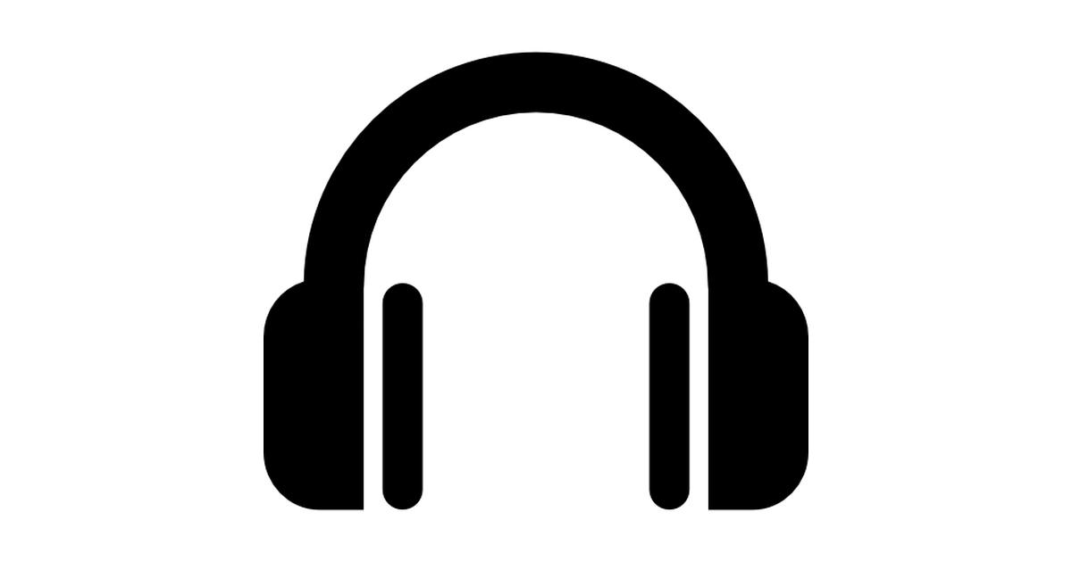 Headphone symbol.