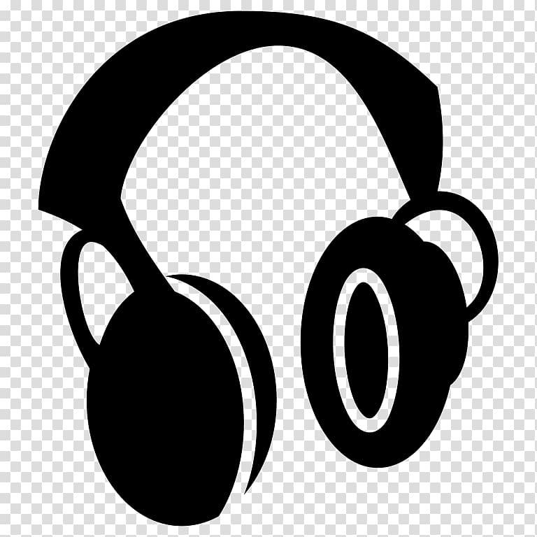 Black headphones graphic art, Headphones Computer Icons , headphone.
