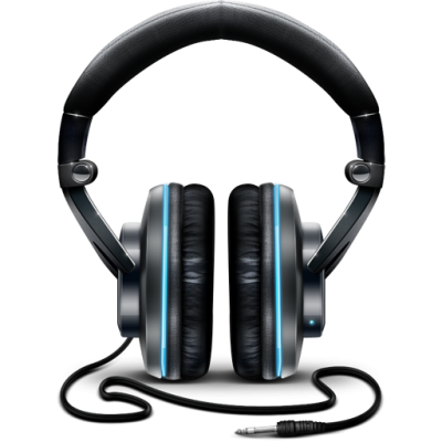 Download HEADPHONES Free PNG transparent image and clipart.