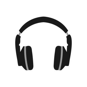 Headphones PNG Images.
