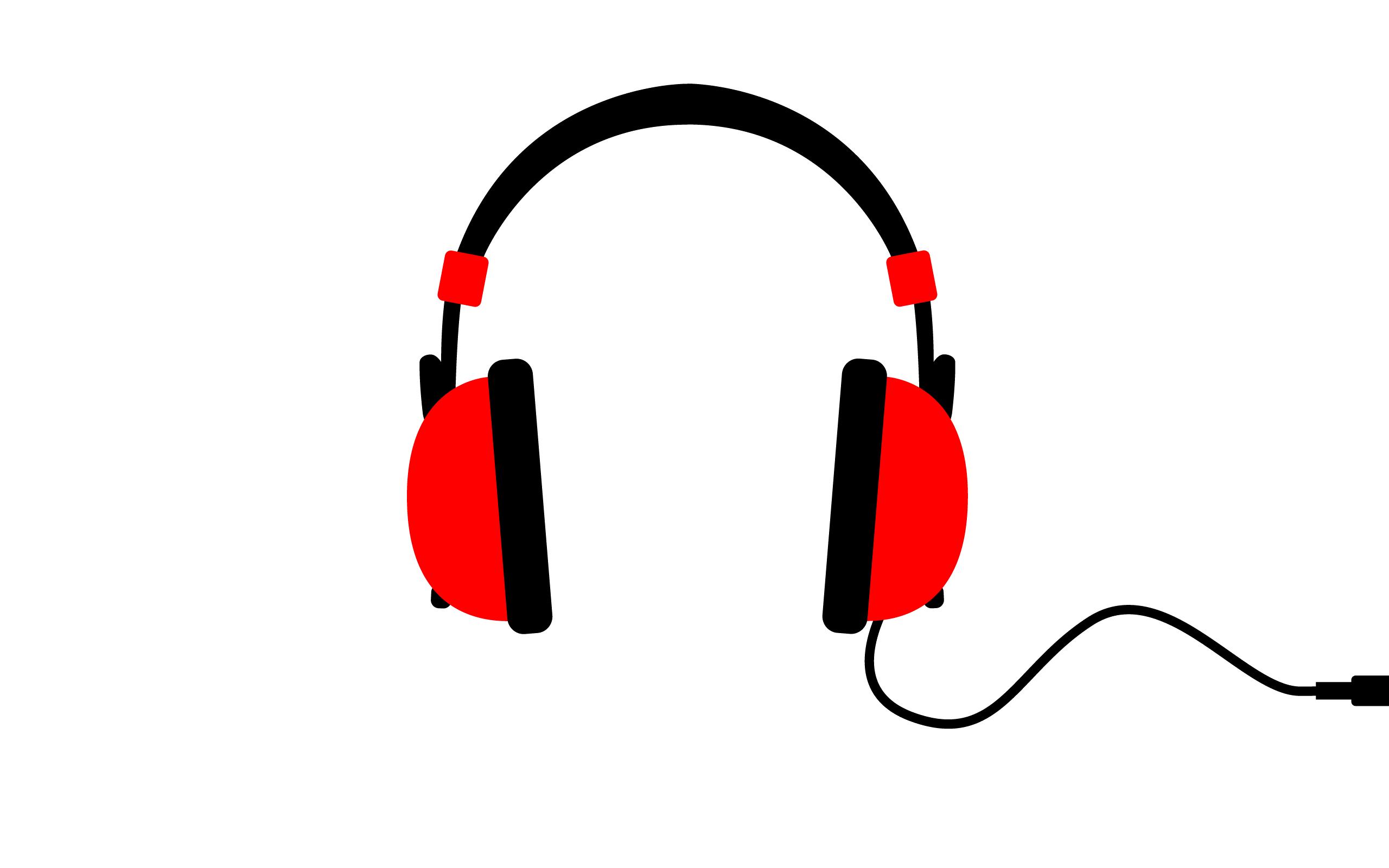 Free Headphones Clip Art, Headphones Free Clipart.