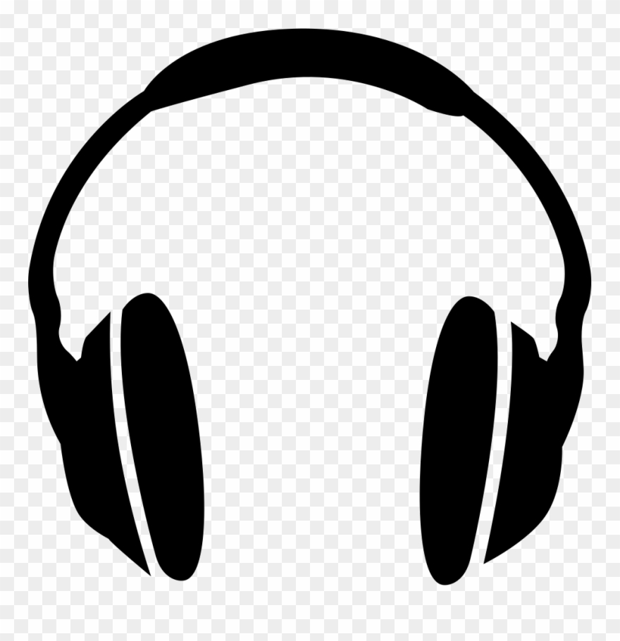Headphones Clipart Svg.