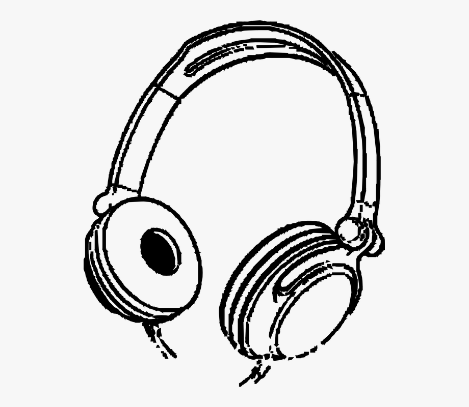 Headphones Music Entertainment Audio Sound Stereo.