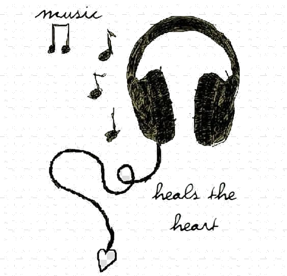 Headphones clipart tumblr transparent, Headphones tumblr.