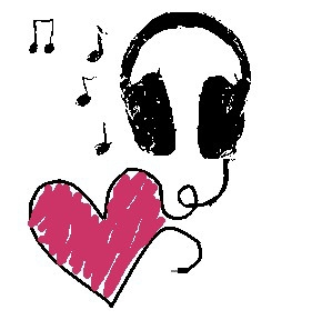 Headphones And Music Clipart.
