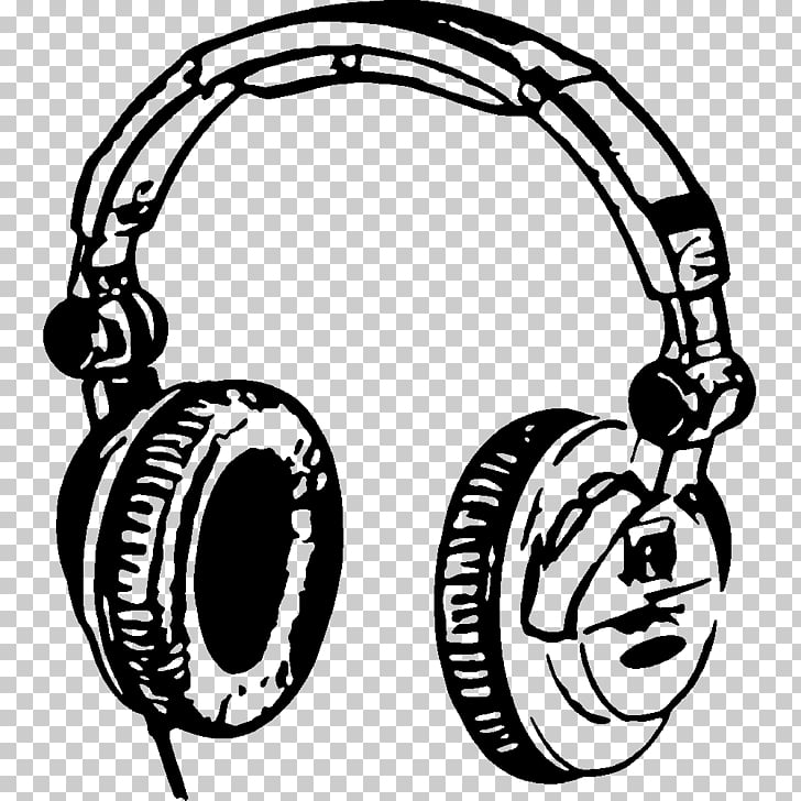 Headphones Sticker Music Drawing , headphones PNG clipart.