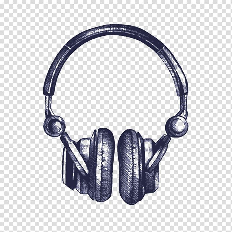 Illustration Headphones graphics Drawing , leamington spa.