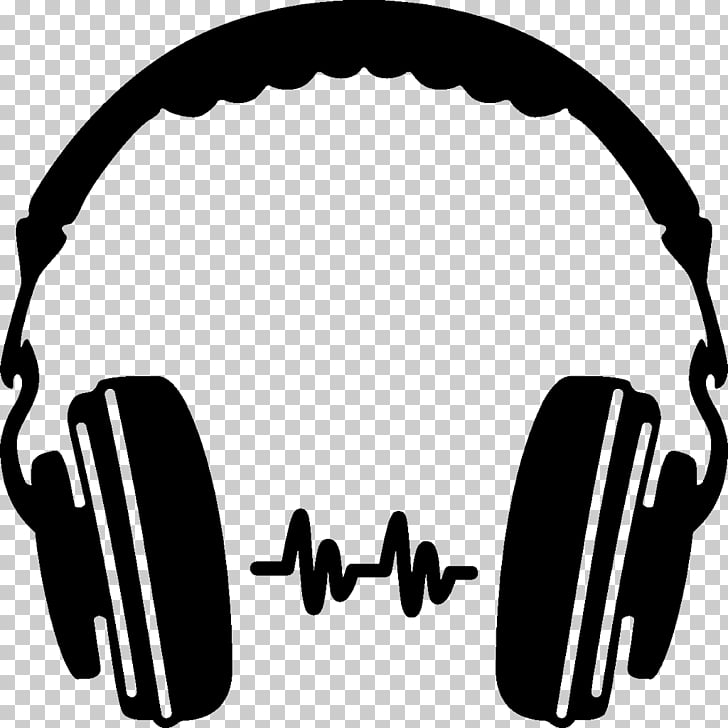 Headphones Silhouette , headphones PNG clipart.