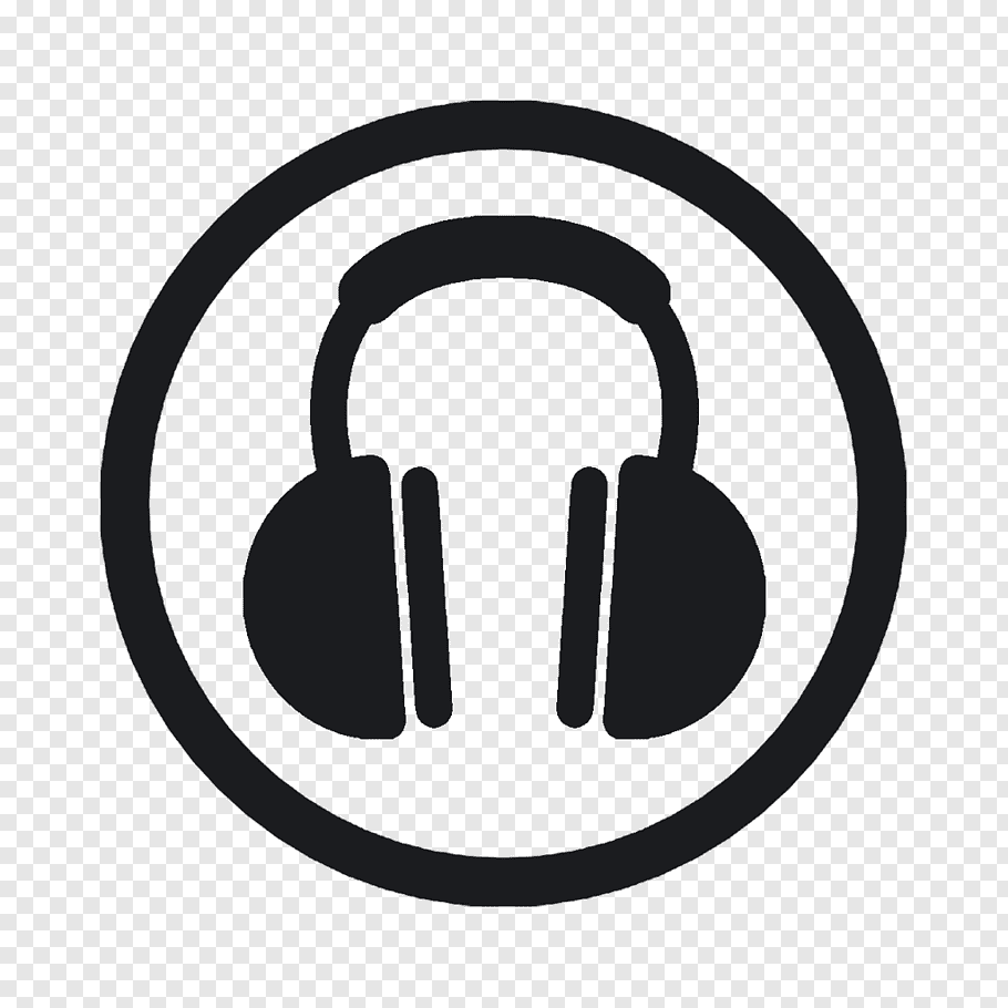 Headphones icon, Headphones, headphone logo free png.