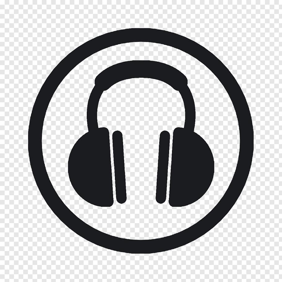 Headphones icon, Headphones, headphone logo free png.