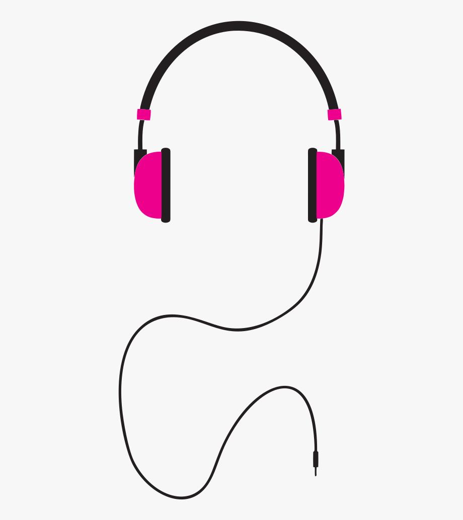Headphones Illustration.