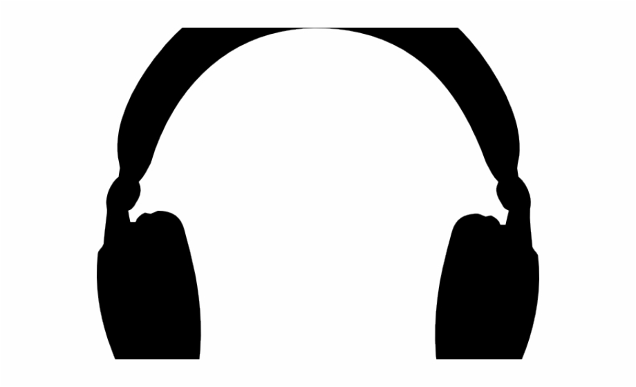 Headphones Clipart Animated Headphones Clip Art Black.