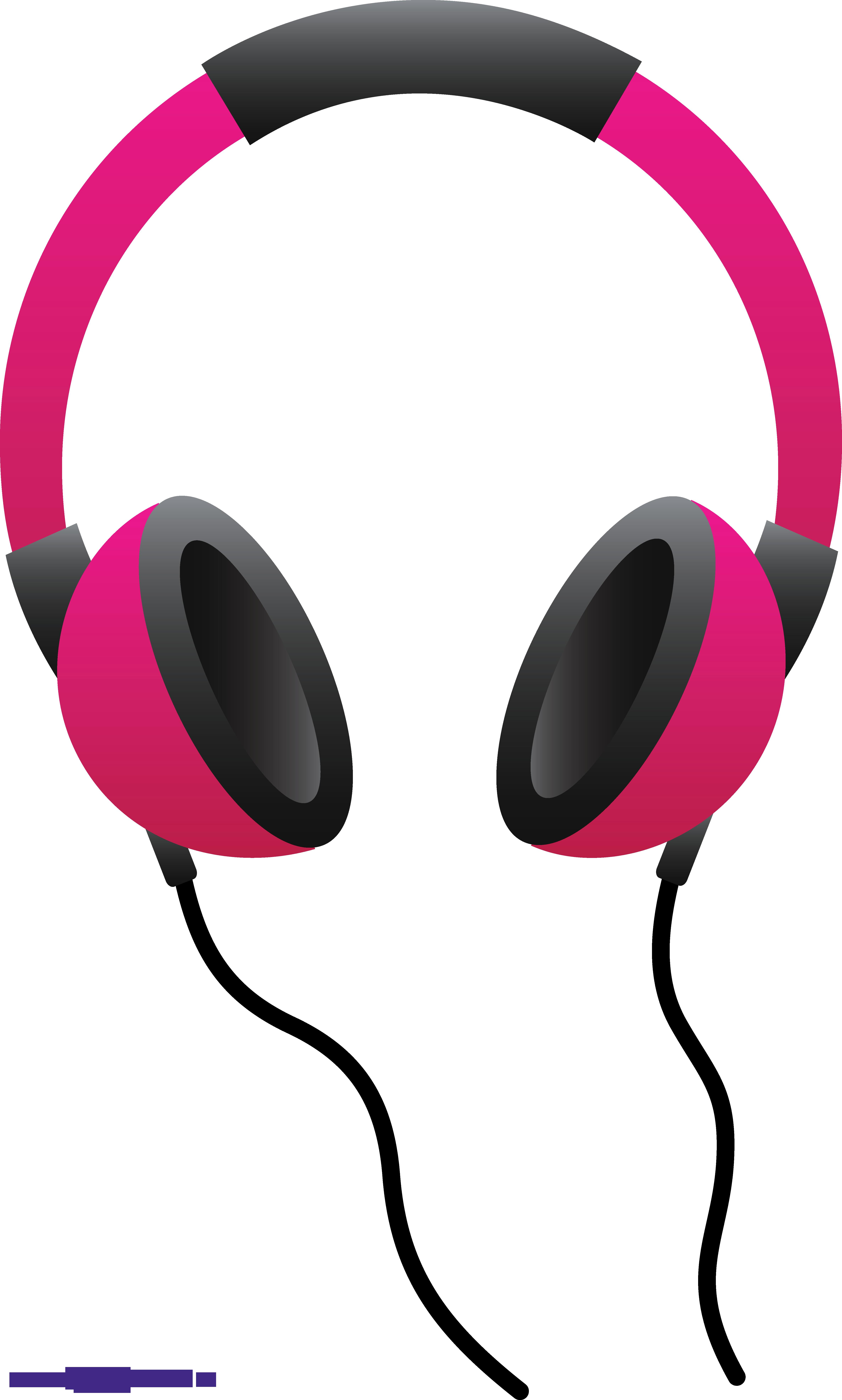 Headphones On Clipart.