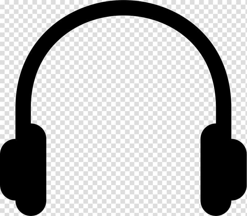 Black headphones illustration, Headphones Computer Icons.