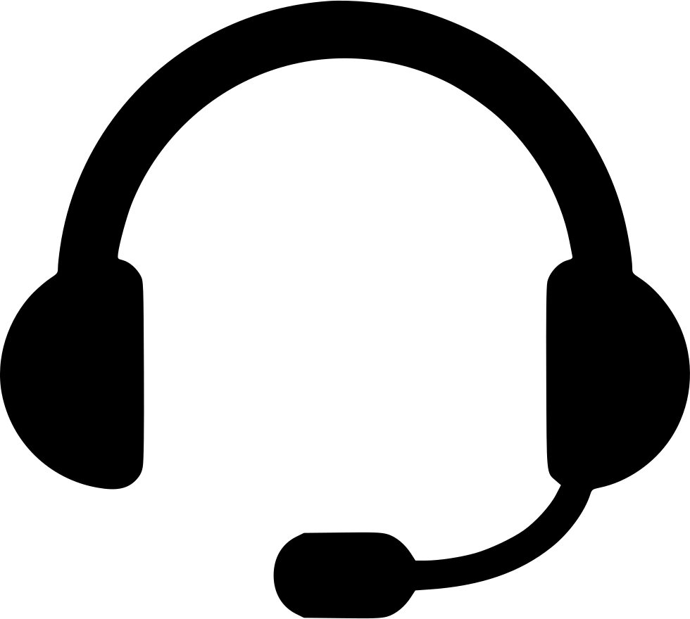 Headphones clipart vector art, Headphones vector art.