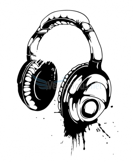 headphones with music clipart - Clipground