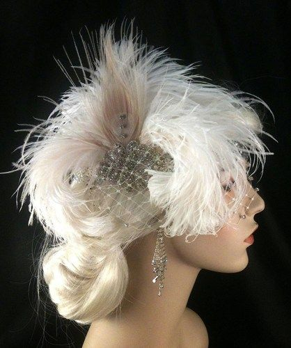 Flapper Headband,1920's headpiece, Art Deco Headband,Great Gatsby.