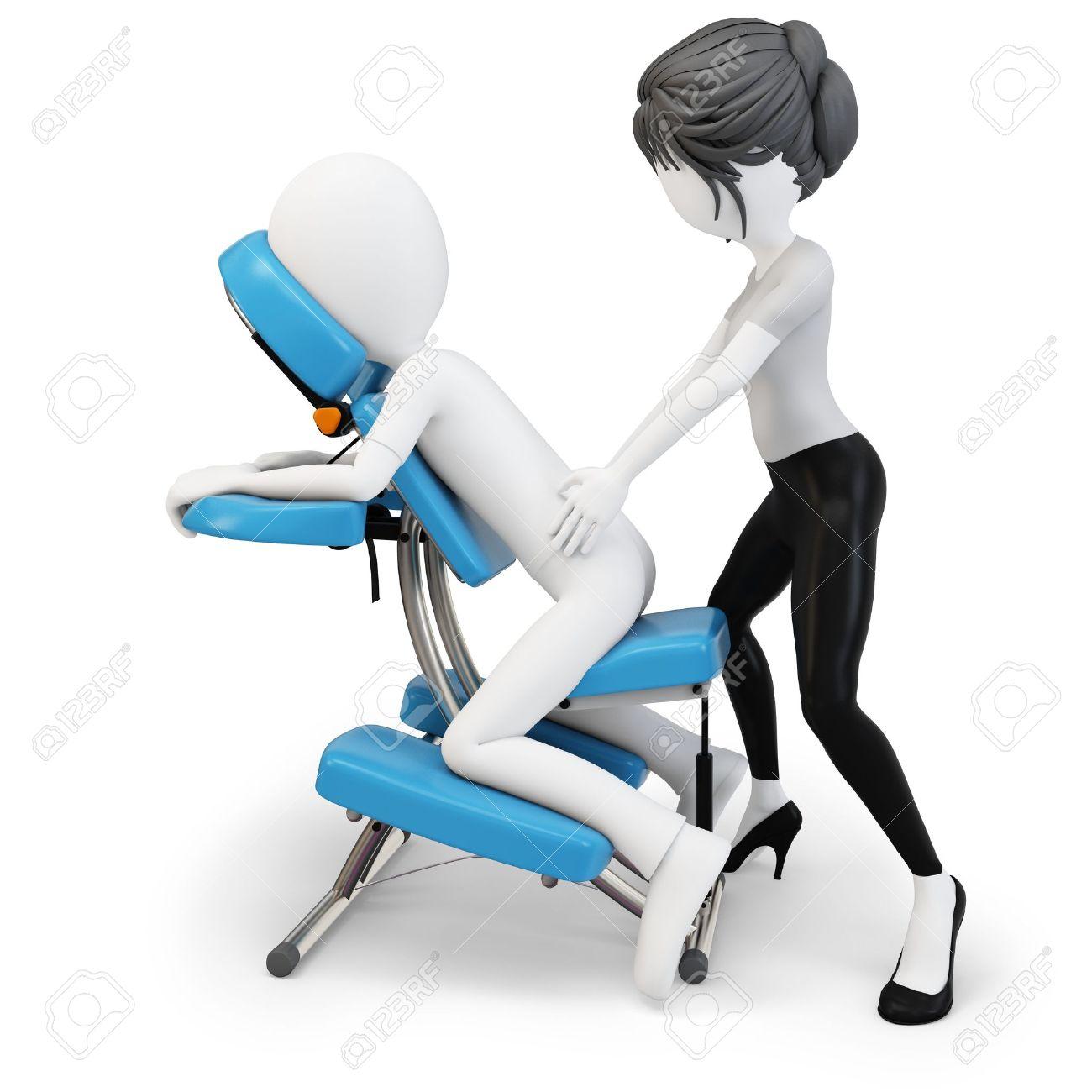Massage Chair: Chair Massage Clip Art and Illustration Clip Art.