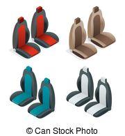 Headrest Clipart Vector Graphics. 20 Headrest EPS clip art vector.