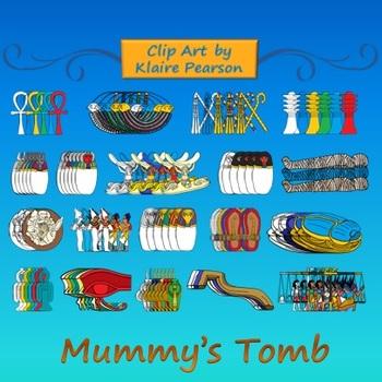 Clip Art: Mummy's Tomb.