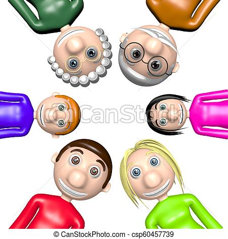 3D family.