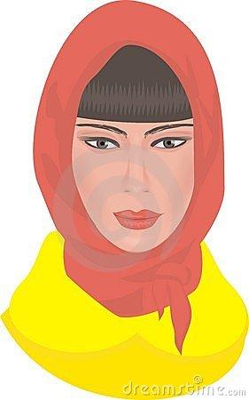 headscarf clipart clipground