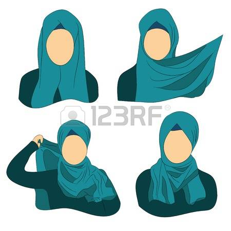 3,468 Headscarf Stock Illustrations, Cliparts And Royalty Free.