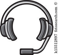 Headset Clipart Royalty Free. 12,513 headset clip art vector EPS.