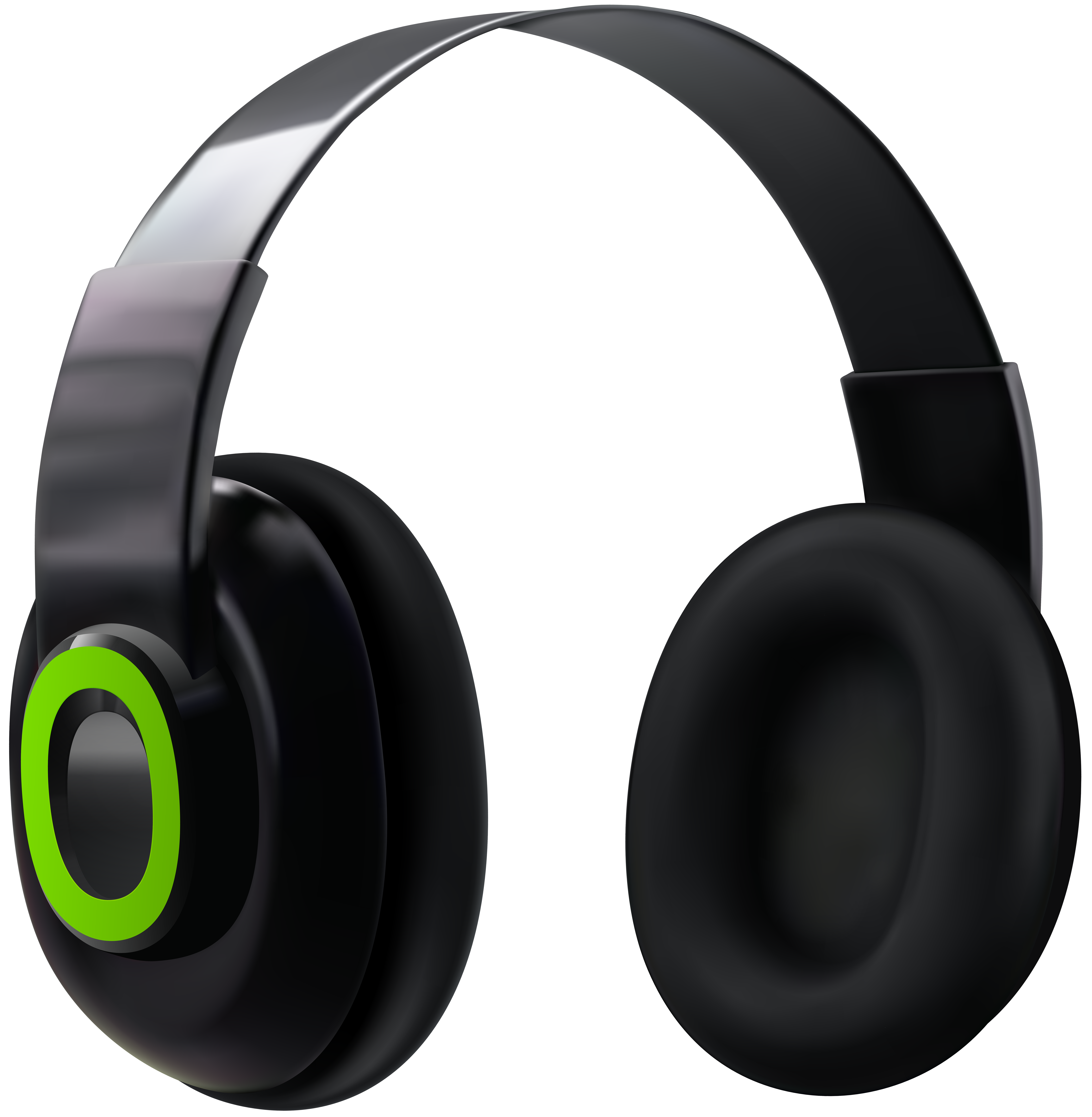 Music Headset PNG Clip Art Image.
