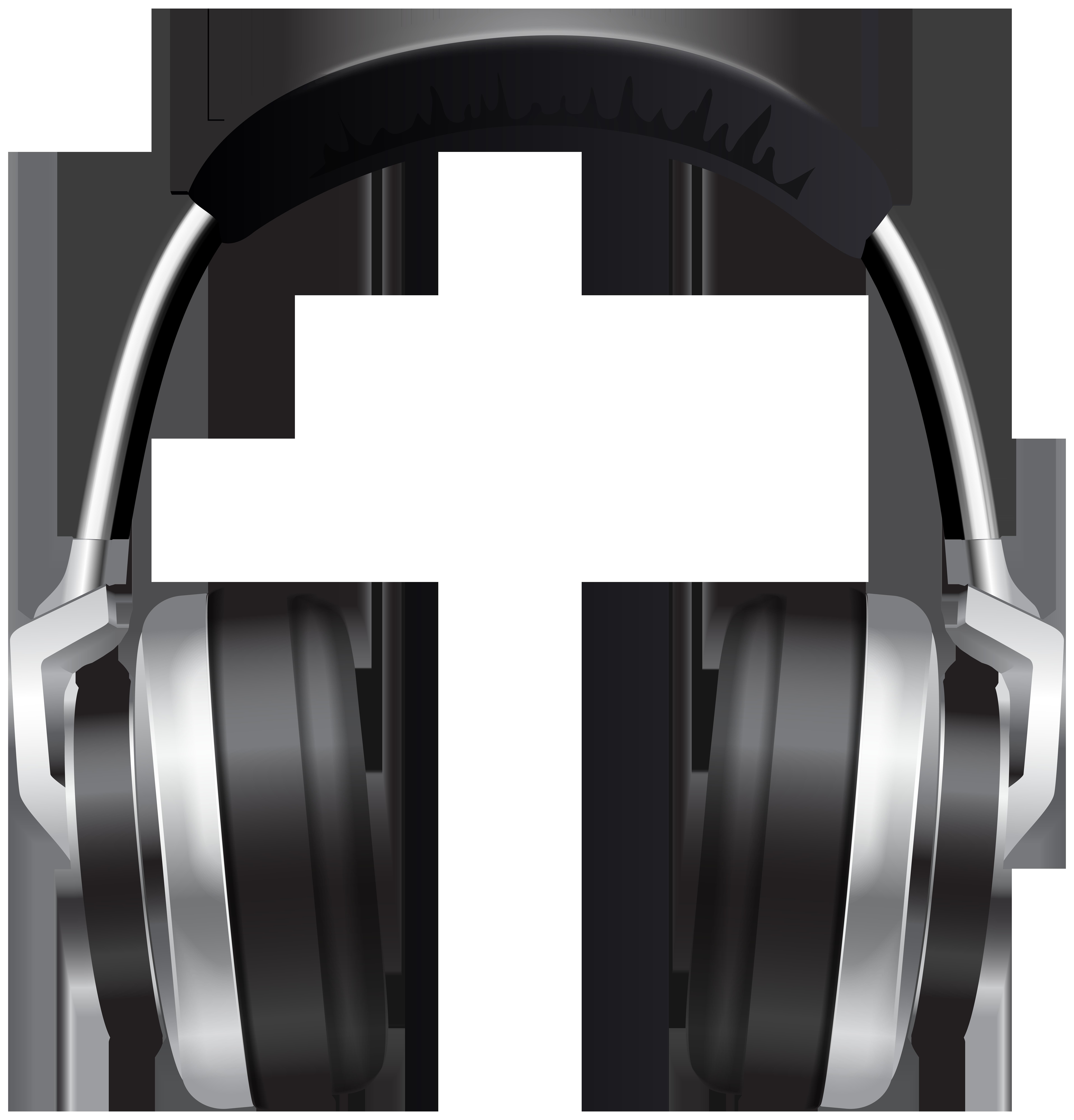 Headset Transparent PNG Clip Art Image.