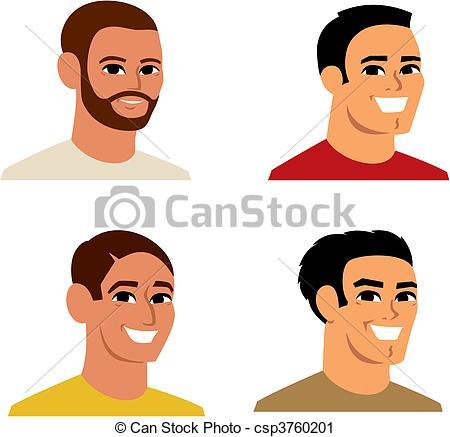 Headshot Illustrations and Stock Art. 624 Headshot illustration.