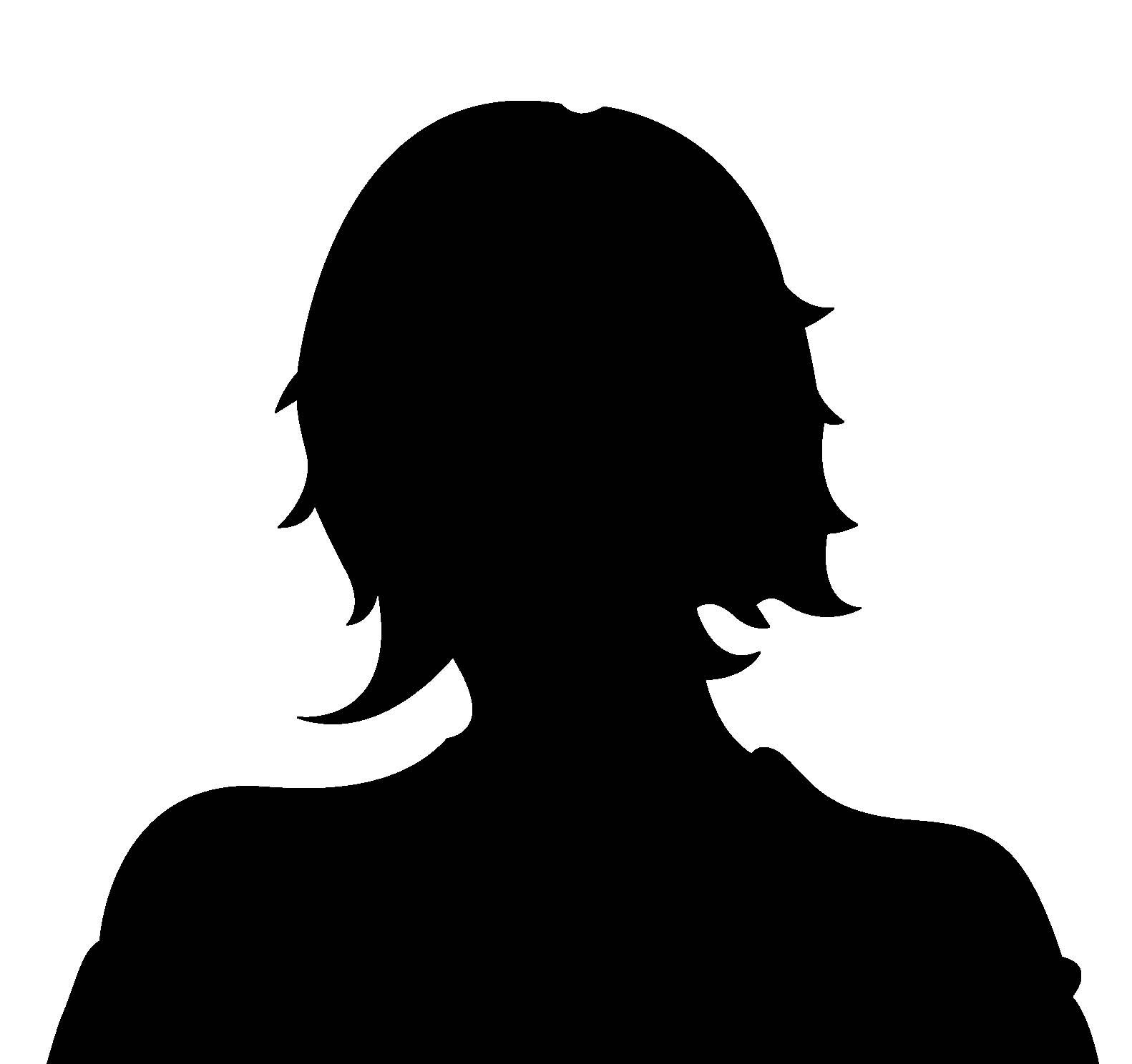 Clipart woman headshot.