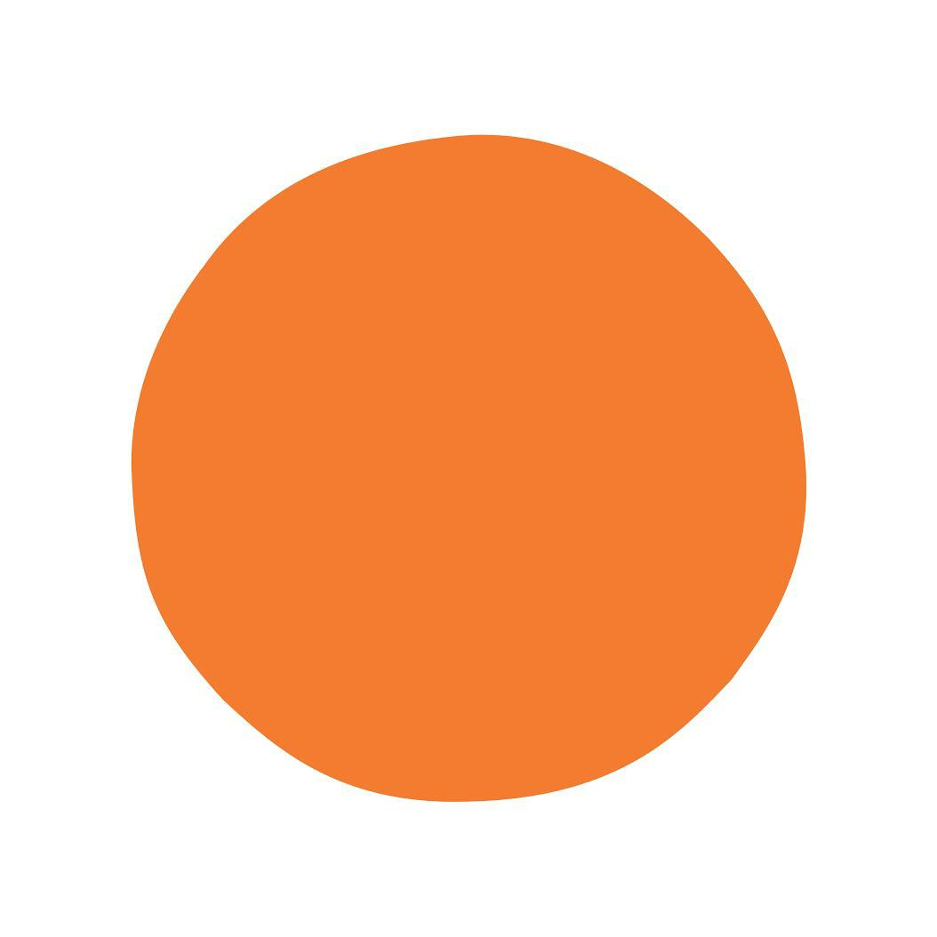 Why is the Headspace app logo not a perfect circle?.