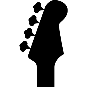 Bass headstock clipart, cliparts of Bass headstock free download.