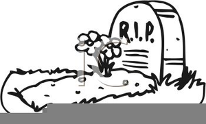 Rip Headstone Clipart.