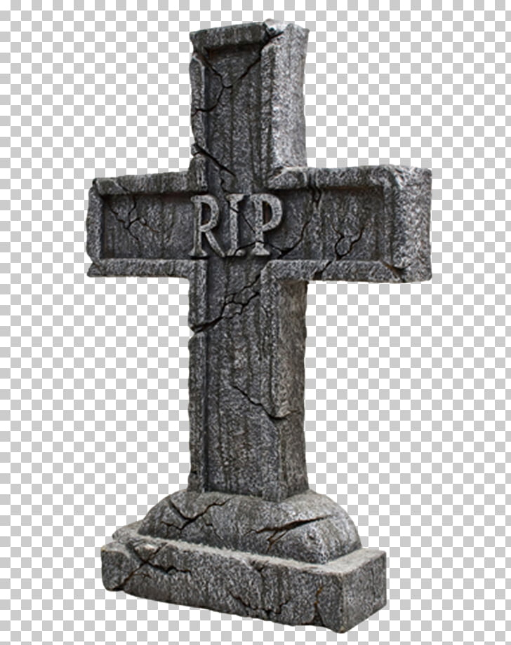 Headstone Cemetery Christian cross Rest in peace, Tombstone.