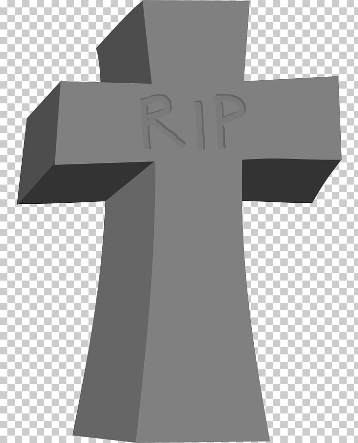Headstone Cross Cemetery Grave , Graveyard Stone s PNG.