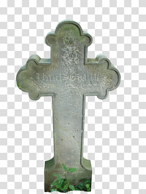 Gravestone transparent background PNG clipart.