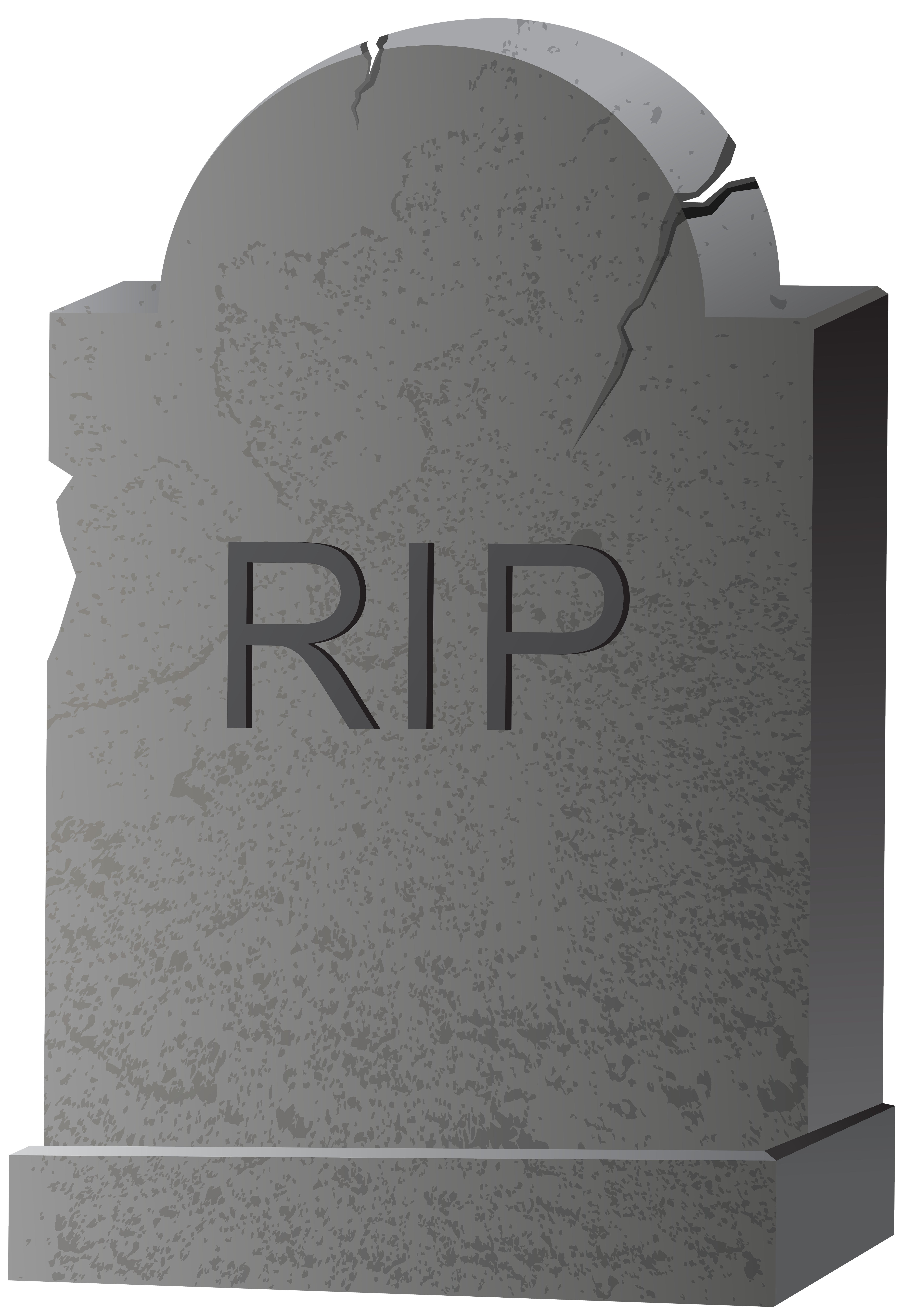 Tombstone PNG Clip Art Image.