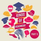 Headwear Clip Art.