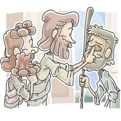 Jesus Healing The Sick With Scriptures Sayings Clipart.