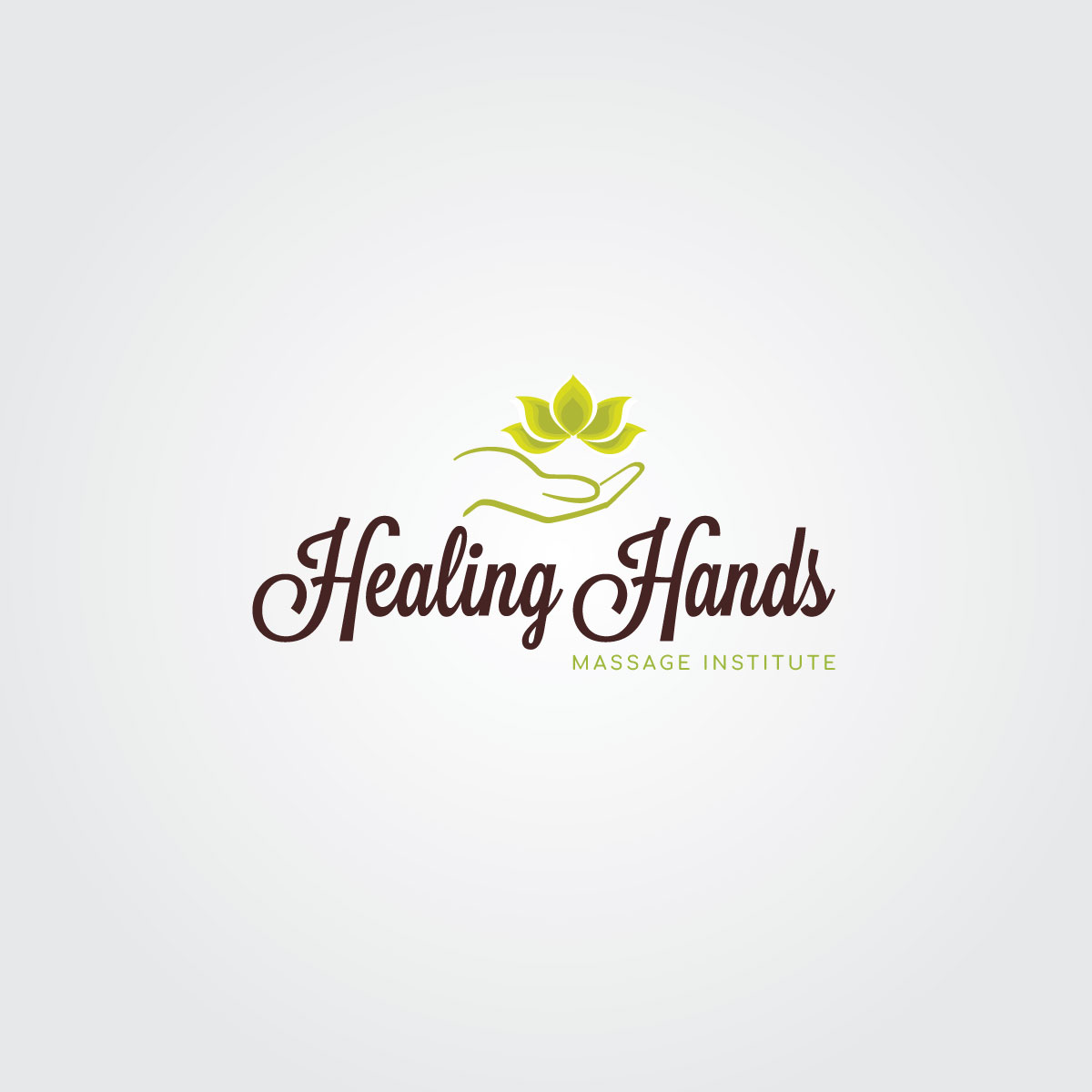 Modern, Feminine, Education Logo Design for Healing Hands.