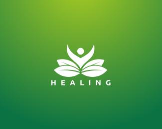 Healing Logo Designed by danoen.