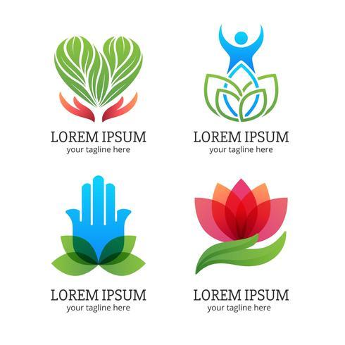 Healing Logo Set.