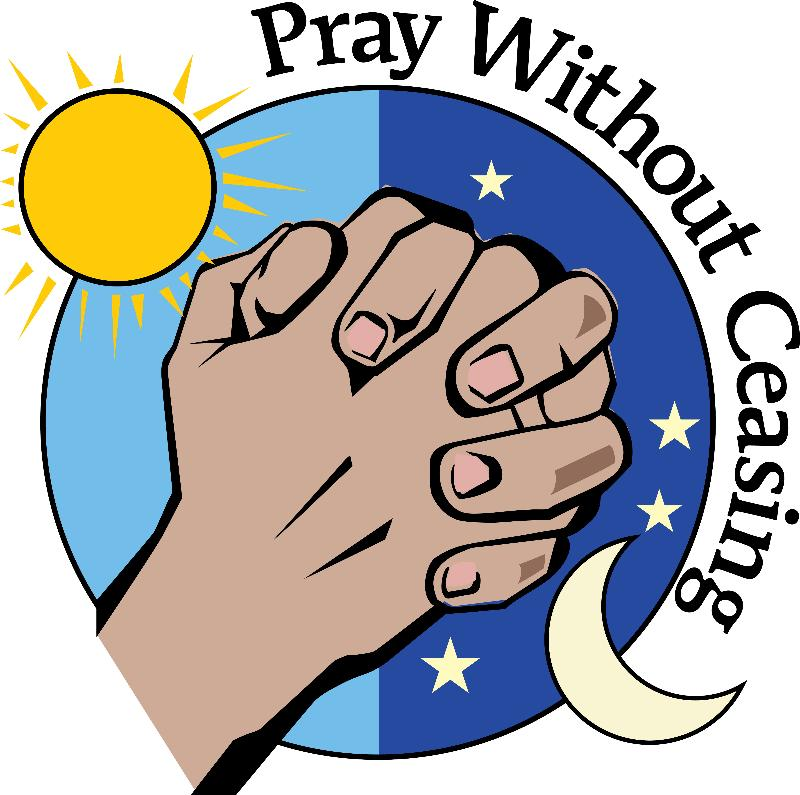 Prayer and Healing Clip Art.