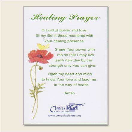 Prayer and Healing Clip Art.